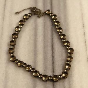 J. Crew Smokey Jeweled Necklace
